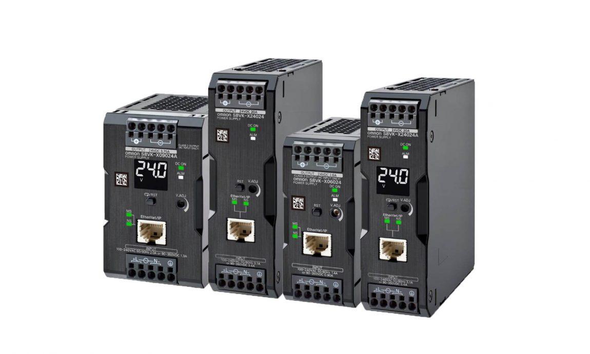Napájací zdroj S8VK-X s Ethernetom pre IoT